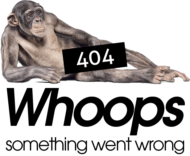 404 Error Page Monkey - The Attitude Smoking Lounge