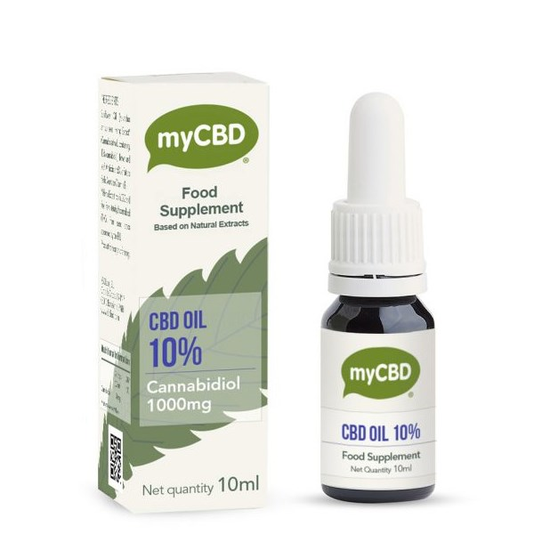 MyCBD 10% CBD Oil Dietary Supplement