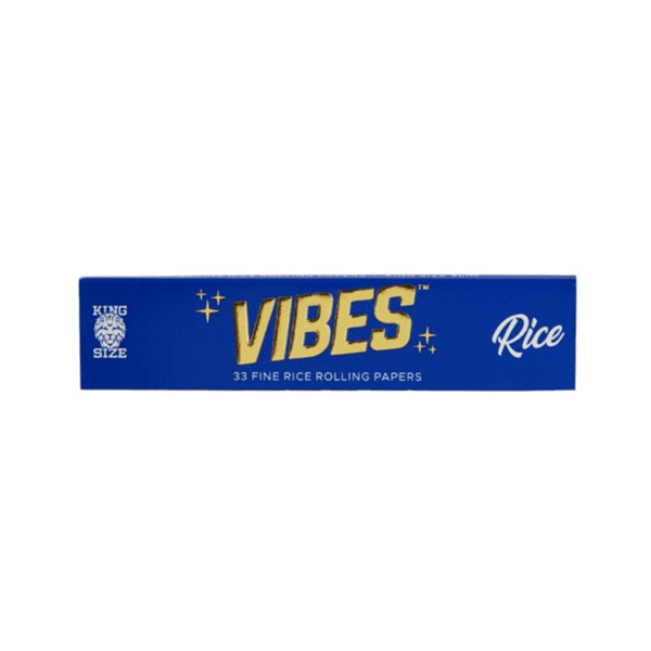 Vibes Rice King Size Slim Rolling Papers