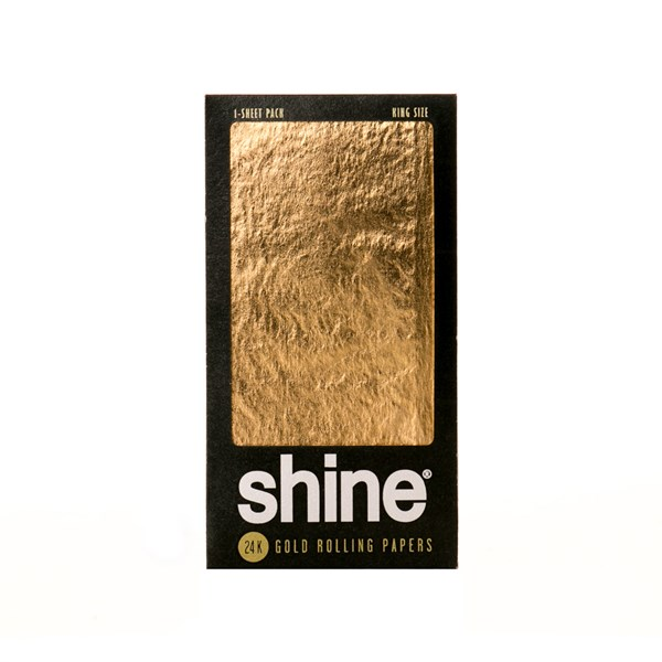 Shine 24K Gold 1 1/4 Rolling Paper (1 sheet)