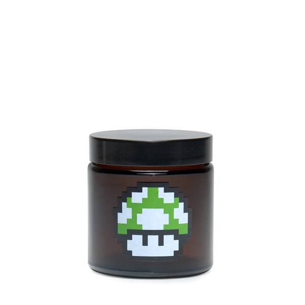 420Science Amber Screw Top Jar - 1up Mushroom