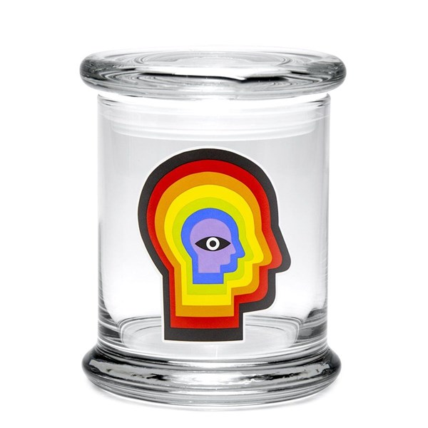 420Science Classic Jar - Rainbow Mind