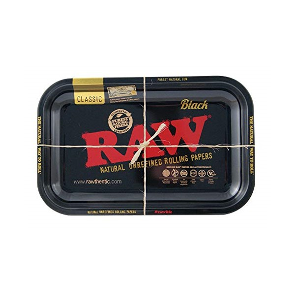 RAW Rolling Tray Black