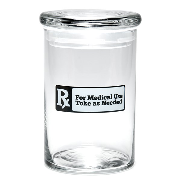 420Science Classic Jar - Rx Black