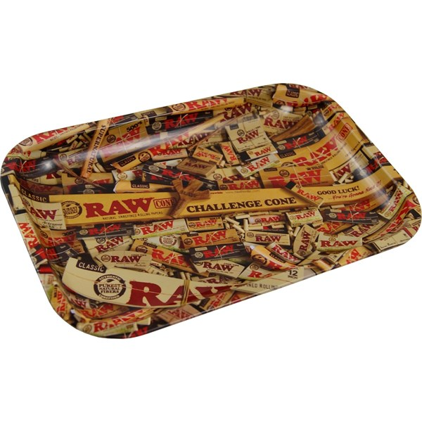 RAW Mixed Pack Metal Rolling Tray