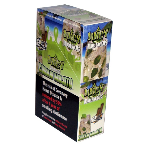 Juicy Jay's  Juicy Double Wrap Blunts - Mojito
