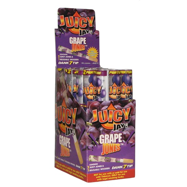 Juicy Jay's  Juicy Jones Pre Rolled Cones - Grape