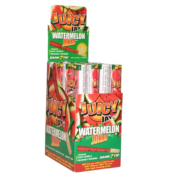Juicy Jay's  Juicy Jones Pre Rolled Cones - Watermelon