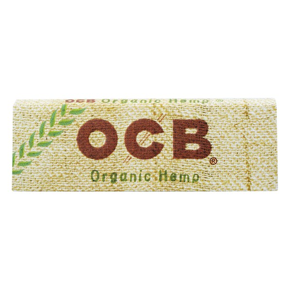 OCB Organic Hemp Range Rolling Papers - No.1 Regular