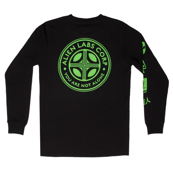 Alien Labs Long Sleeve T-shirt - The Corps - Black