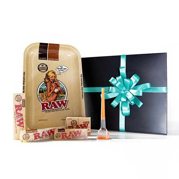 RAW  Girl Tray with Cone Artist Gift Set