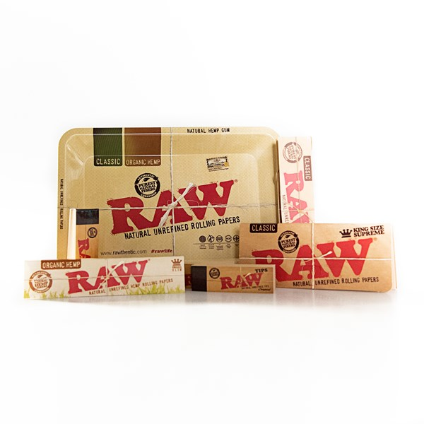 RAW  King Size Slim Gift Set