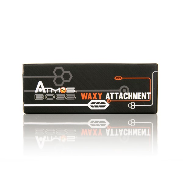 Atmos RX Vaporizers Boss Waxy Attachment Chamber Black & Stainless