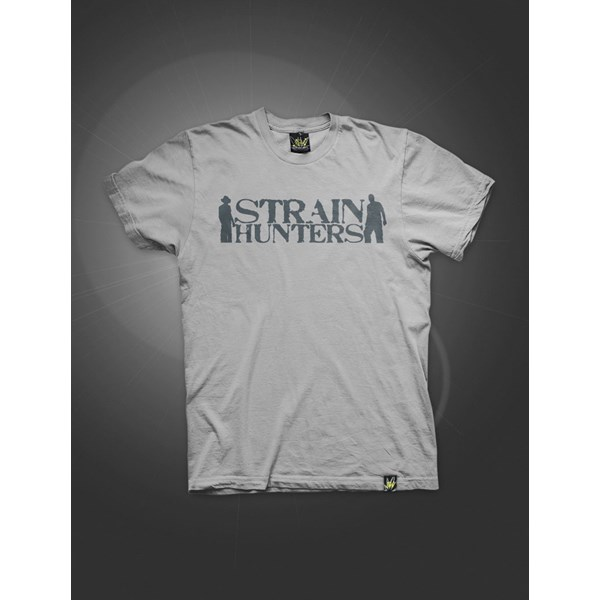 Green House Clothing Strain Hunters Jersey T-Shirt Grey (ATS026)