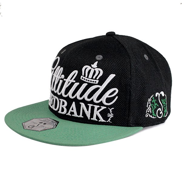 The Attitude Seedbank Hat Snapback - V2 Black