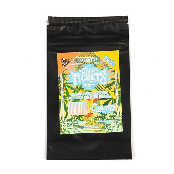Lift Tickets Terpene Infused Papers Flat Packs - Biscotti
