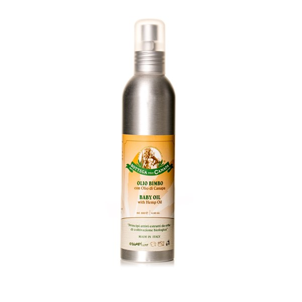Bottega Della Canapa Baby Oil with Hemp Oil