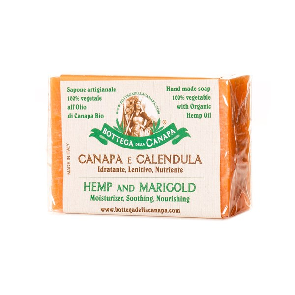 Bottega Della Canapa Hemp Soap with Marigold