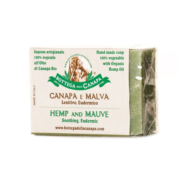 Bottega Della Canapa Hemp Soap with Mauve