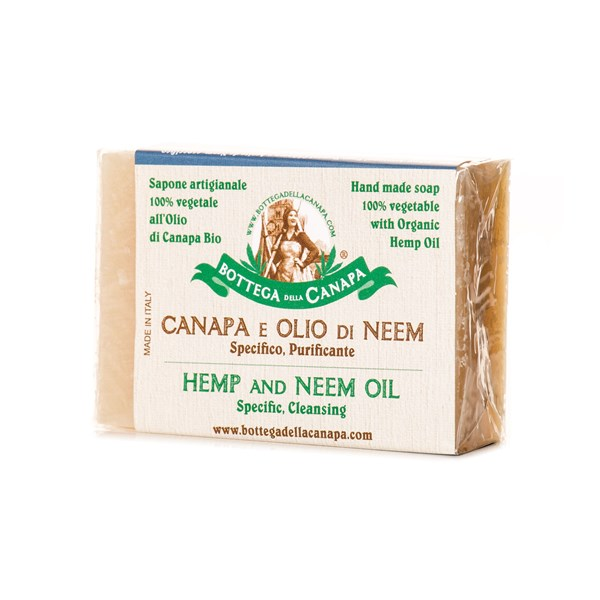 Bottega Della Canapa Hemp Soap with Oil of Neem