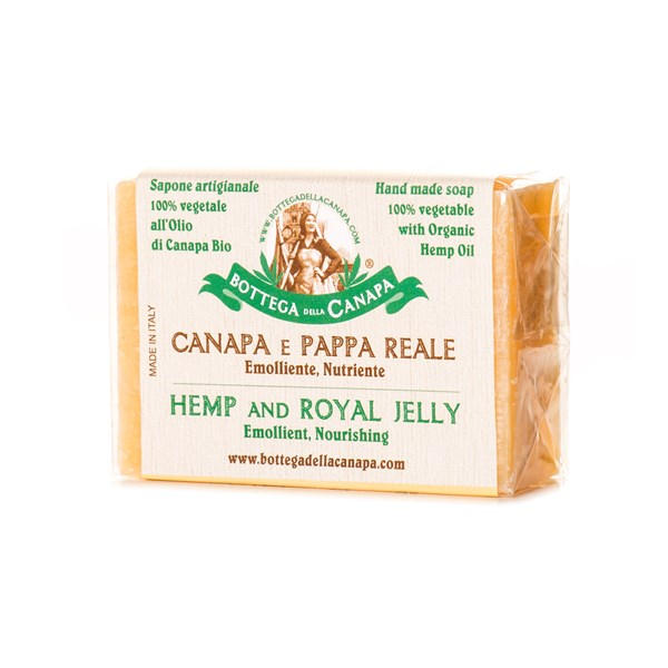 Bottega Della Canapa Hemp Soap with Royal Jelly