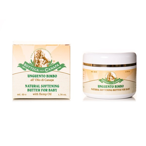 Bottega Della Canapa Baby Butter with Hemp Oil