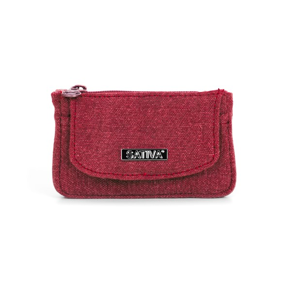 Sativa Hemp Bags Coin Wallet & Keychain