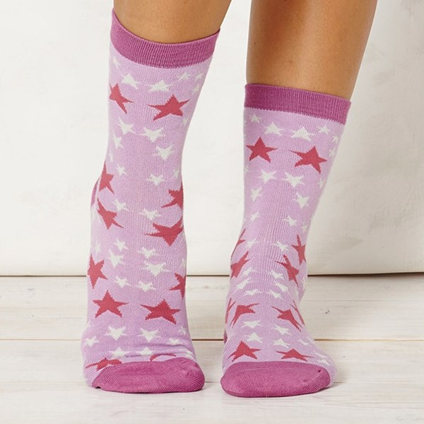 Thought Clothing Ladies Stella Lilac Bamboo Socks