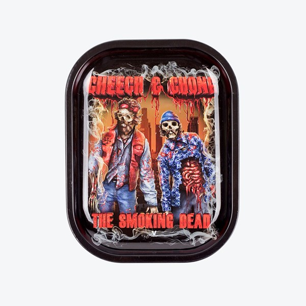 V Syndicate Metal Rolling Tray - Cheech and Chong