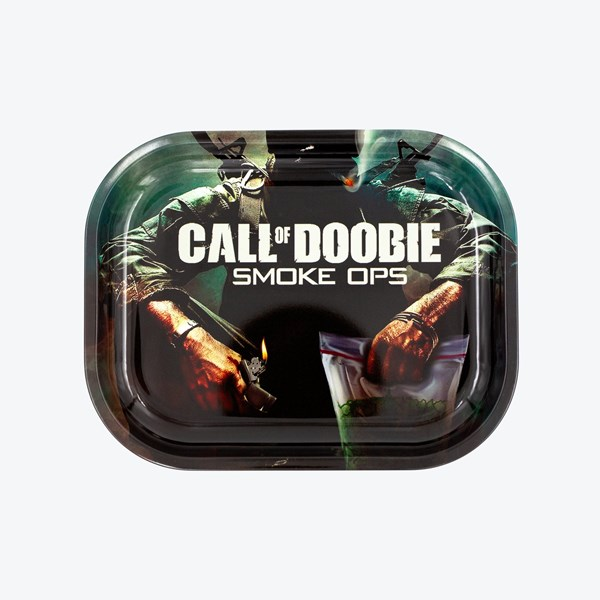 V Syndicate Metal Rolling Tray - Call of Doobie