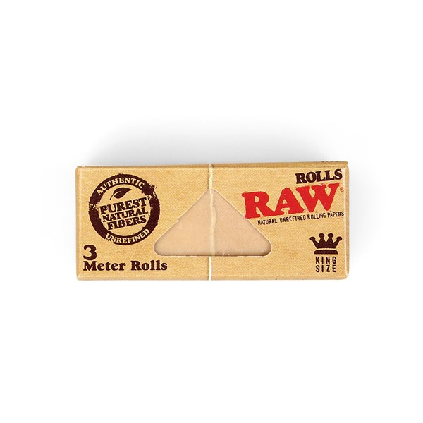 RAW Rolling Papers Classic King Size Paper Rolls