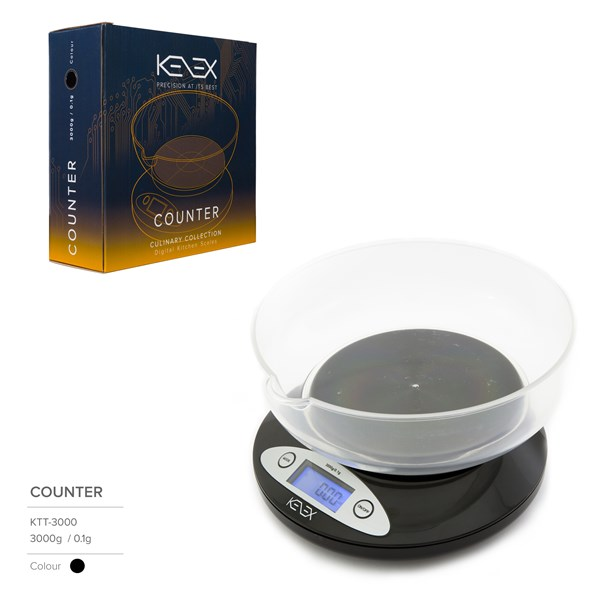 Kenex Digital Scales Culinary Collection Counter Precision Scales