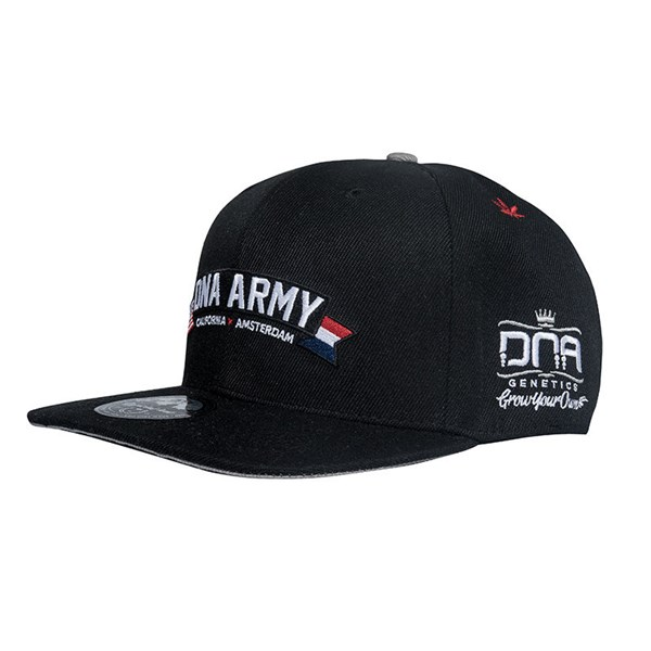 DNA Genetics Apparel DNA Army Snapback Hat