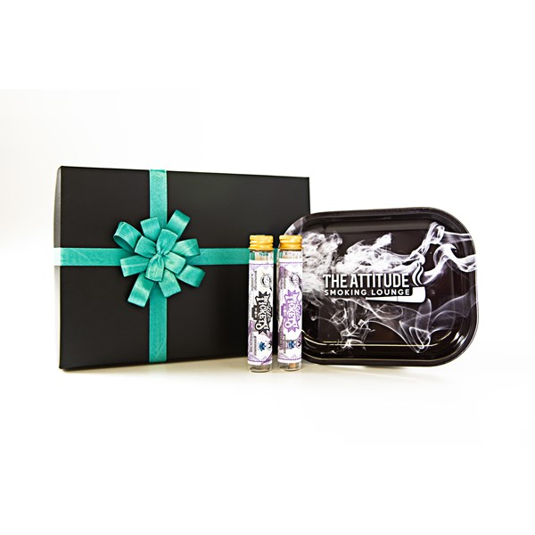 Lift Tickets  Terpene Infused Cones and ASL Tray Gift Set - Purple