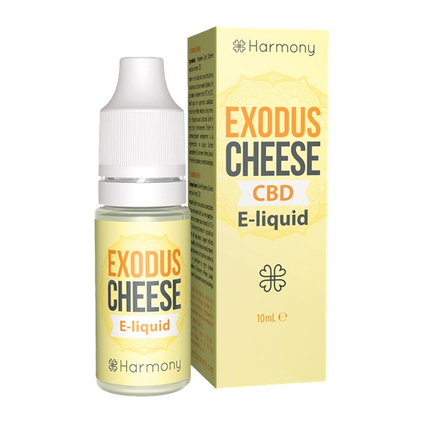 Harmony CBD E-liquid Exodus Cheese
