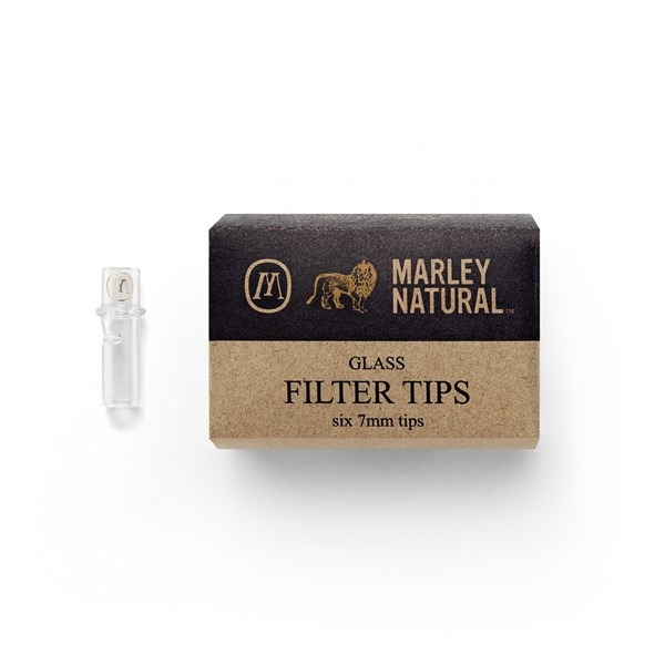 Marley Natural Inside Glass Filter - Clear (6 pieces)