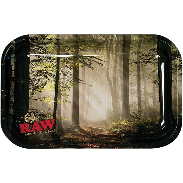 RAW Rolling Tray Metal - Forest