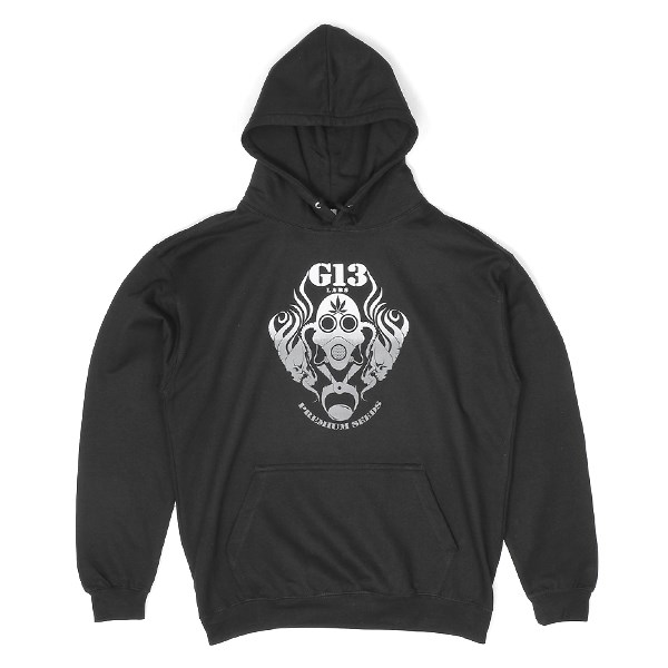 G13 Labs Gradient Logo Hoody Black