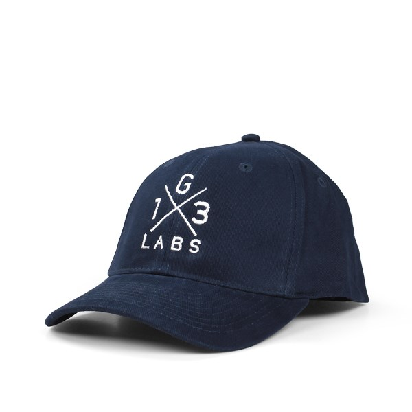 G13 Labs Cross Logo Cap Navy