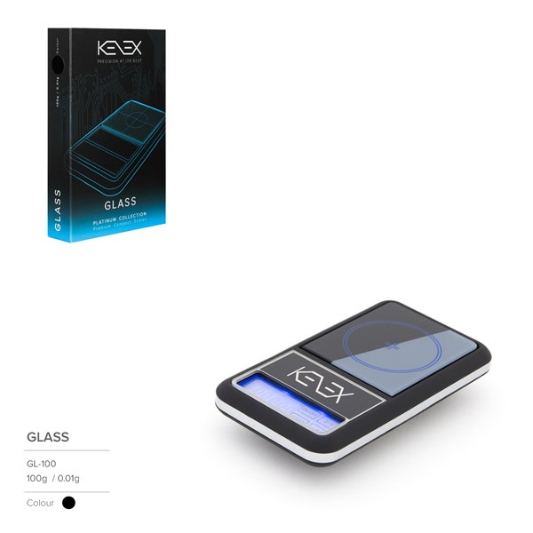 Kenex Digital Scales Platinum Collection - Glass