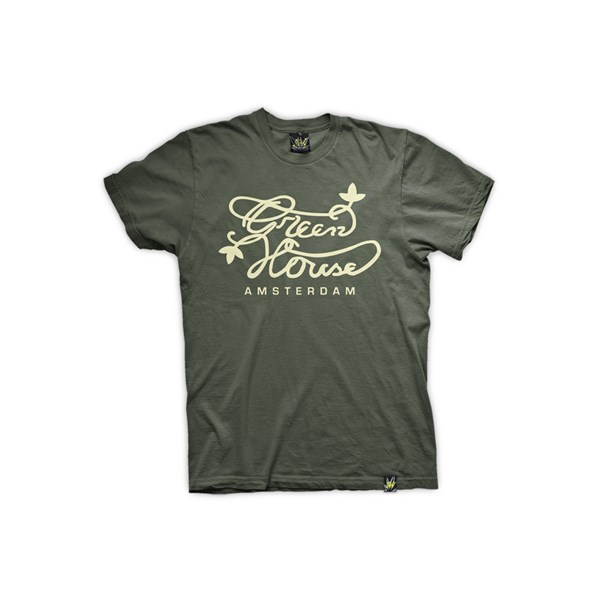 Green House Clothing T-Shirt - Army Green (ATS002)