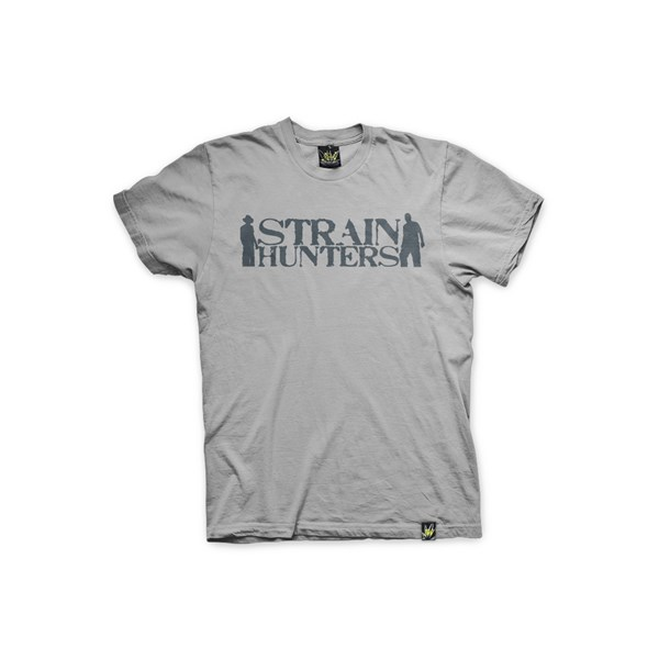 Green House Clothing T-Shirt - Strain Hunters Jersey Grey (ATS026)