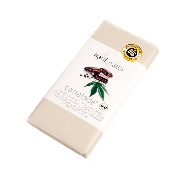 Hanf Natur Hemp Foods Hemp Milk Chocolate Canalade 100g