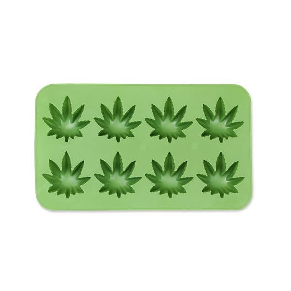 Cannabis Leaf Ice Cubes Tray