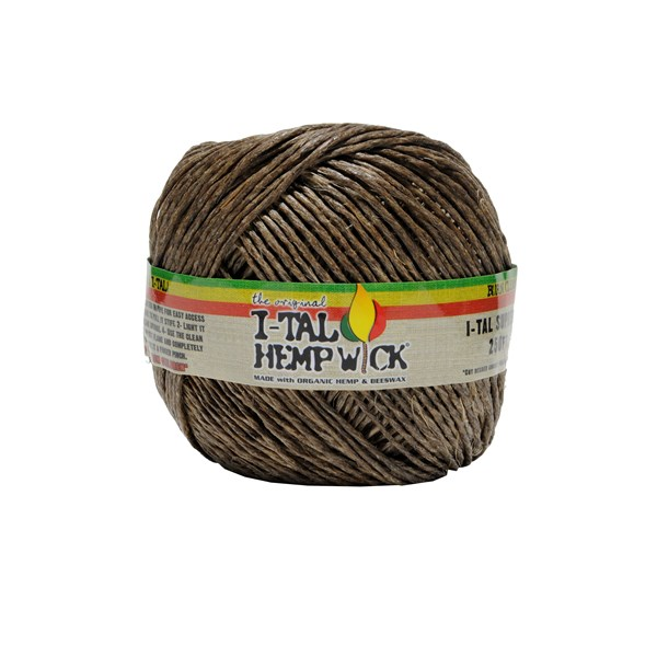 Ital Hemp Wicks I-tal Hemp Wick