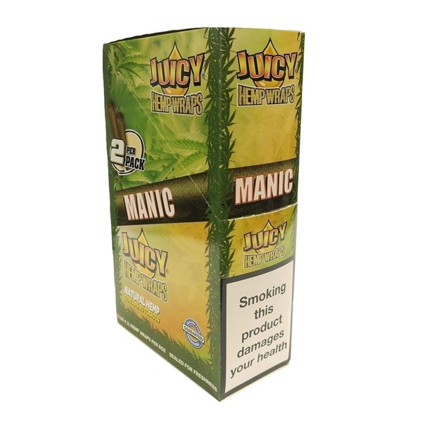 Juicy Jay's  Hemp Wraps - Manic AKA Mango Papaya
