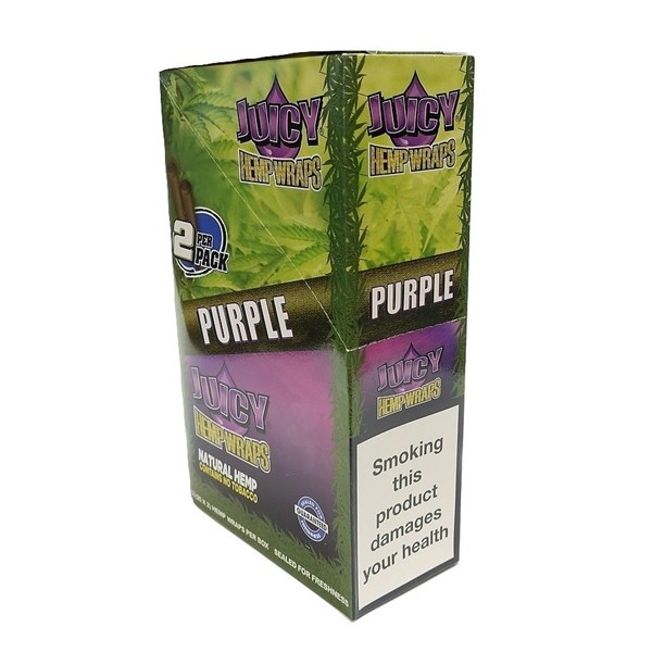Juicy Jay's  Hemp Wraps - Purple AKA Grapes