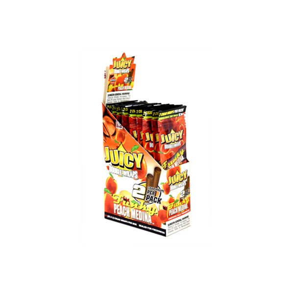 Juicy Jay's  Juicy Double Wrap Blunts - Funky Peach Medina