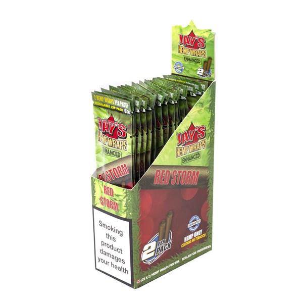 Juicy Jay's  Hemp Wraps - Red Storm