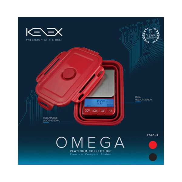 Kenex Digital Scales Platinum Collection - Omega (Collapsible)